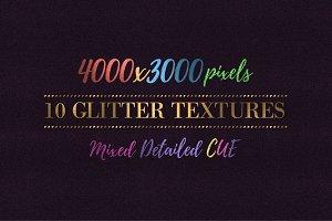 10 Glitter Textures