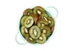 Kiwi Fruit in Colander