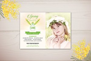 Spring Mini Session Template-V231
