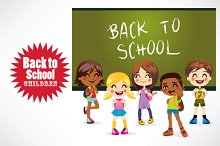 Back to School Children