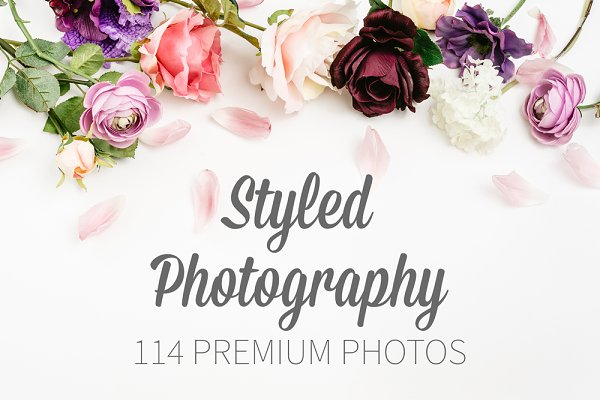 Styled Photography ~ 114 HQ Photos