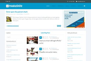 PS Magazinite Blog Joomla Template