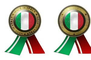 Set of 2 Italy Seals