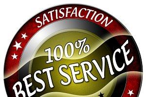 100% Best ServiceIcon