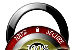 100% Secure Icon