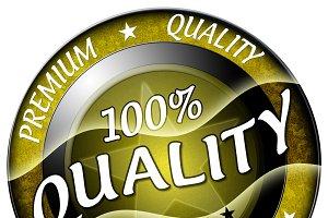 100% Quality Icon