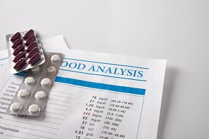 analysis report with drug elevated