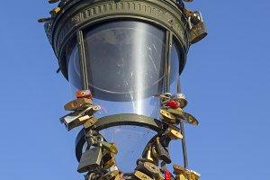 "Lantern with ""love locks"""