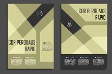 Geometric brochure design. Vol.1