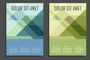 Geometric presentation design