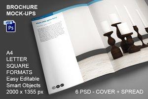 Brochure Mock-ups - 6 PSD