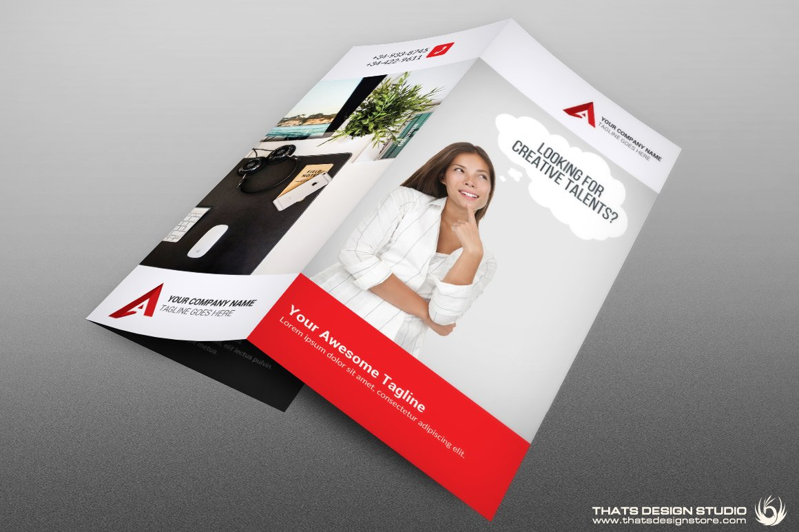 creative brochure templates - creative brochure trifold template brochure templates