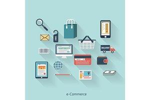 E-Commerce modern concept