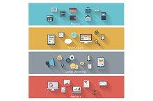 Set of modern concepts
