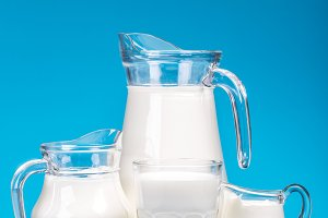 Natural fresh milk
