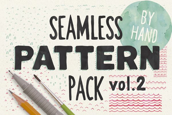 HandSketched Seampless Patterns II.