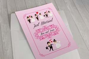 Sweet Wedding Invitation