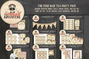 The Pink Mad Tea Party Pack