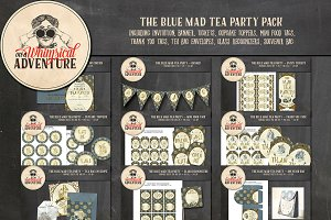 The Blue Mad Tea Party Pack