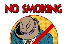 sign Smoking ban