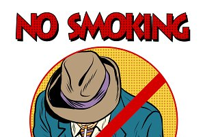 sign Smoking ban