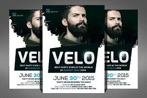 Electro Concert Dj Flyer Template