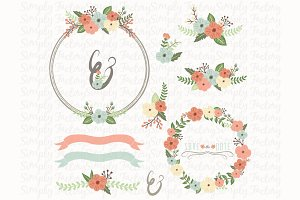 Wedding Floral Wreath Collections