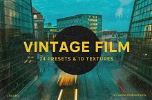 Vintage Film: LR Presets & Film Dust by  in Add-Ons