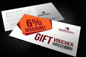 Fast Gift Vouchers Template