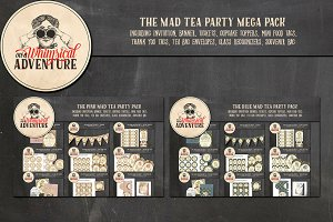The Mad Tea Party Mega Pack