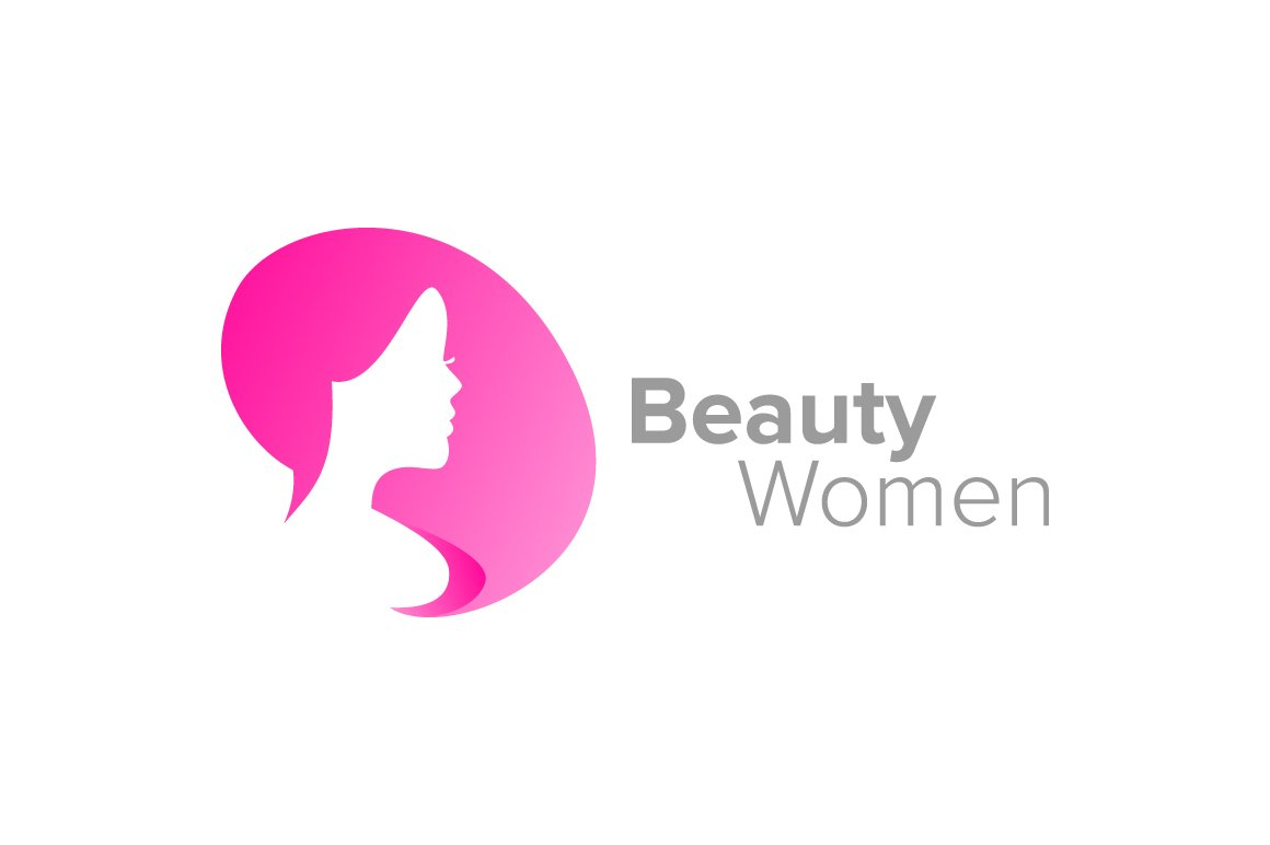 Beauty Woman Silhouette Logo Templates Creative Market