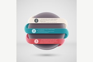 Round Infographics Banner