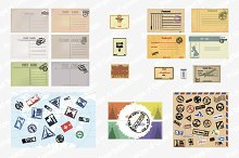 A set of envelopes