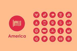 United States icons