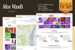 Nice Pixels portfolio template