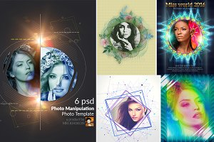 Photo Manipulation PSD Templates