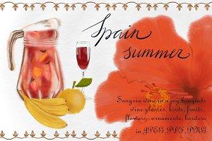 Spain summer