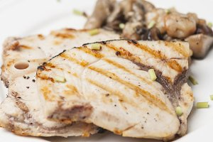 Emperor Fish fillets grilled