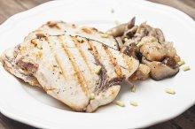 Emperor Fish fillets grilled