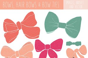 Bow Clip Art and Bow Tie Clip Art