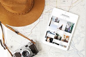 Ipad Stock Photos: Adventure Series