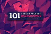 101 Vector Geometric Backgrounds V.3
