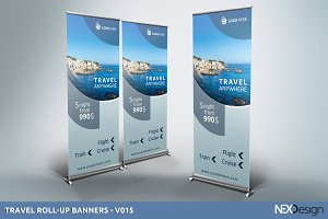 Travel Roll-Up Banners - SB