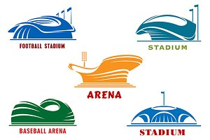 Open sport arenas and cup stadiums