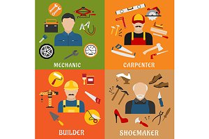 Construction and service professions