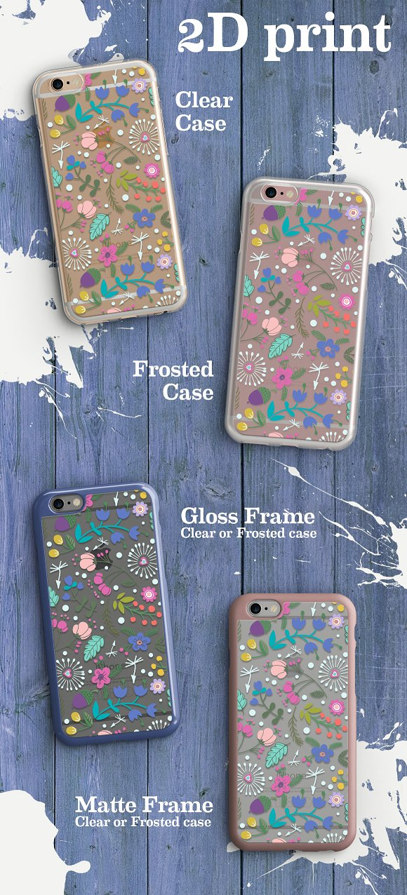 Clear & Frosted Cases in Product Mockups - product preview 2
