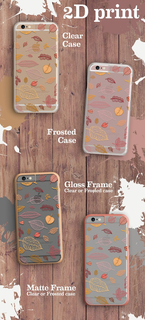 Clear & Frosted Cases in Product Mockups - product preview 3