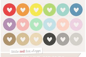 Heart Circle Clipart