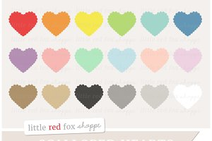 Scalloped Heart Clipart