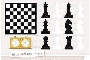 Chess Set Clipart